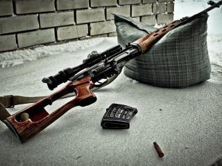 обои Свд,   снайперская винтовка драгунова фото