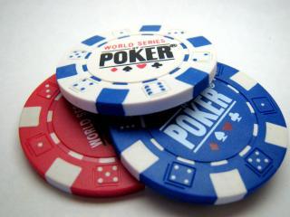 обои Покер 3 фишки фото