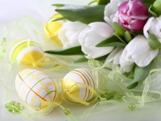 обои Весенний пасхальный праздник фото