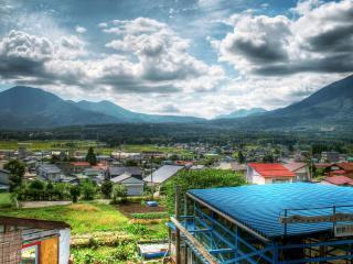 обои Китайская деревня фото