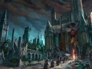 обои Город поклоников сатаны фото