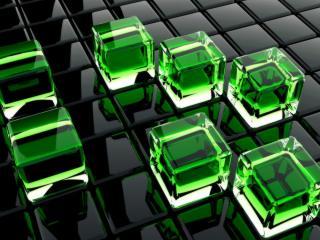 обои Кубики разных цветов фото