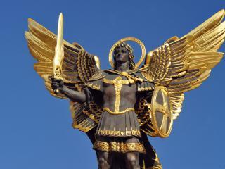 обои Скульптура,   архангел михаил,   киев фото