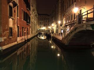 обои Вечерний вид венецианского канала фото