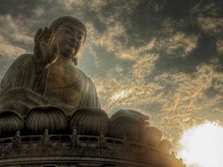 обои Статуя индийского Будды фото