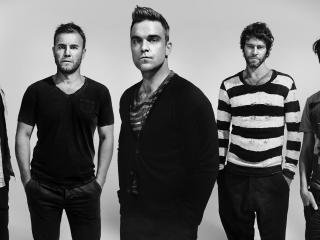 обои Группа Take That роби уильямс по средине фото