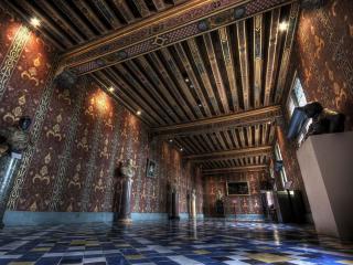 обои Зал старого замка фото