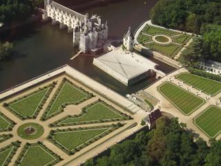 обои Средневековый замок,   вид сверху фото