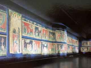 обои Фрески старого замка фото