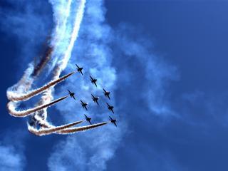 обои Парад воздушное шоу фото