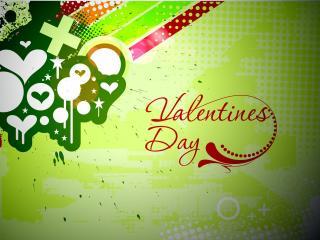 обои День Св. Валентина - Любовь в красках  фото