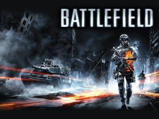 обои Battlefield 3,   танк и солдаты фото