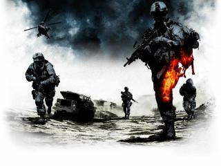 обои Battlefield атака фото