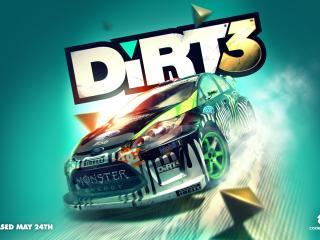 обои Dirt3,   гоночный симулятор фото