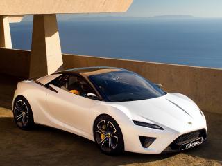 обои Белый Lotus Elise фото