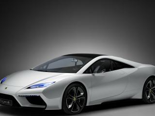 обои Lotus Esprit белый фото