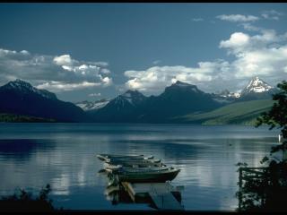 обои Тихое вечернее озеро фото