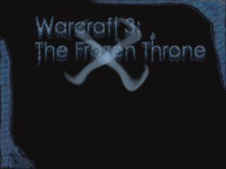 обои Замороженный WarCraft3 фото