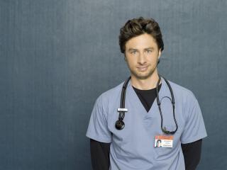 обои Мужчина врач с фонендоскопом фото