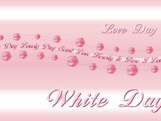 обои День Св. Валентина - Белый День фото