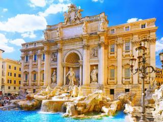 обои Римский фонтан треви фото