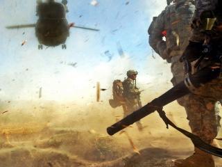 обои Военные будни фото