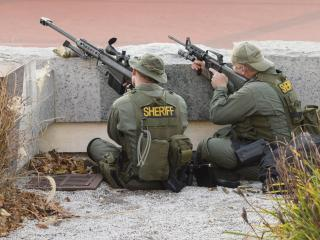 обои Два шерифы снайперы фото