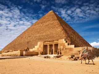 обои Архитектура египетских пирамид фото