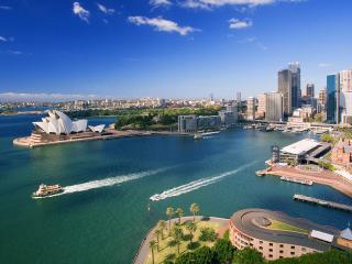 обои Вид Австралии в яркий день фото