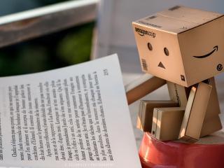 обои Danbo - Чтение книги фото