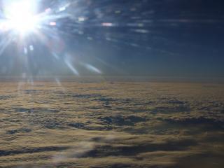 обои Солнечный горизонт фото