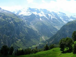 обои Красота горного пейзажа фото