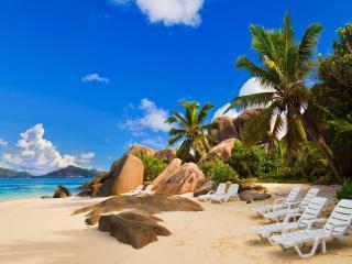 обои Пляж на экзотическом острове фото