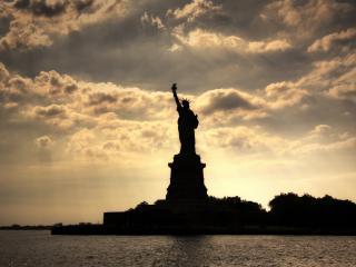 обои Statue of liberty в нью-йорке фото