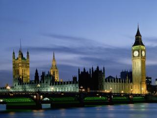обои Красивый вид Лондона фото
