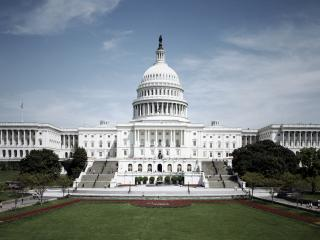 обои Капитолий Вашингтона в США фото