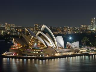обои Сиднейский оперный театр фото
