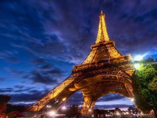 обои Французская башня фото