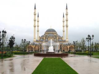 обои Фонтан у мечети фото