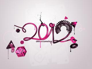 обои Новый Год - 2012 фото