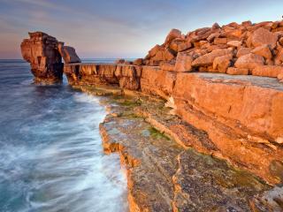 обои Руины на берегу моря фото