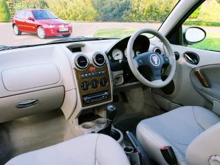 обои Rover 25 3-door 2004 руль фото