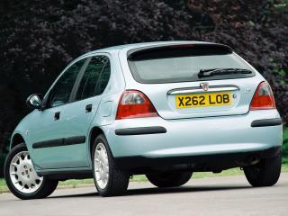 обои Rover 25 5-door 1999 багажник фото