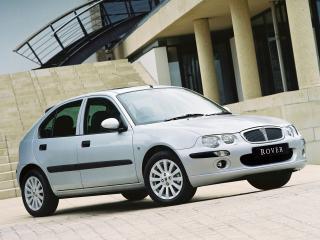 обои Rover 25 5-door 1999 боком фото