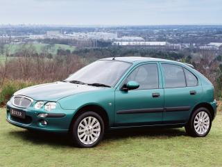 обои Rover 25 5-door 1999 зеленая фото