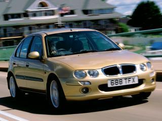 обои Rover 25 5-door 1999 передок фото