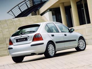 обои Rover 25 5-door 1999 серебристая фото