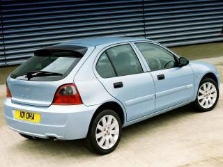 обои Rover 25 5-door 2004 боком фото