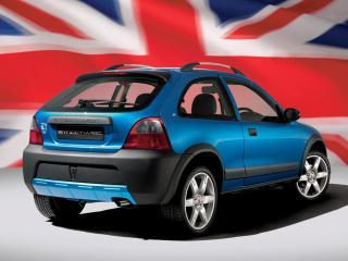 обои Rover 25 Streetwise Olympic 3-door 2003 зад фото