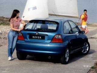 обои Rover 200 3-door (R3) 1995 зад фото